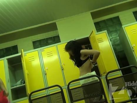 Hidden-Zone.com- Lo1339 Two young girlfriends undressing in front of a shower and left completely naked, still tal