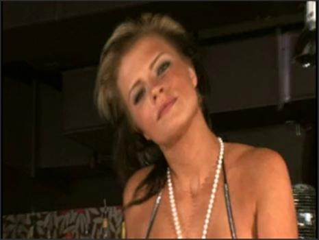 Megavideopass.com- Young blonde beauty gives a private show once the club_s closed